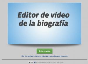 Crea un Video de Tu perfil o Página de Facebook en 2 Minutos